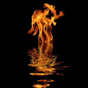 fire-on-water
