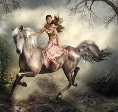 horse mystical