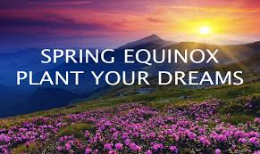 spring exuinox plant your dreams