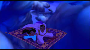 magic carpet with couple
