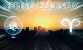 spring equinoc wtih ram